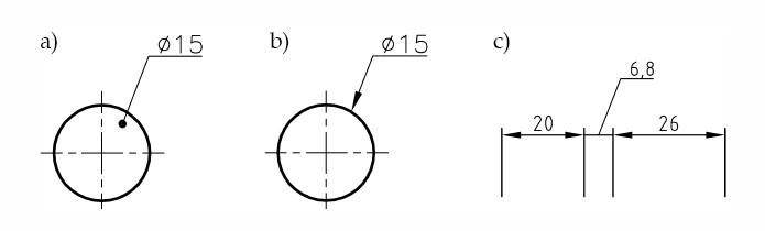 rysunek techniczny rysowanie linii