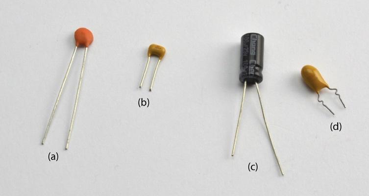 Rodzaje kondensatorów