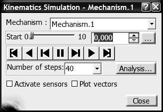 Zastosowanie formuł do symulacji ruchu