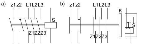 Budowa i działanie układów przekaźnikowo-stycznikowych