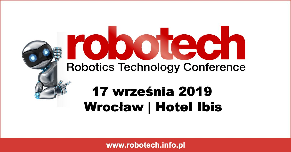 Konferencja Robotech 17 września 2019