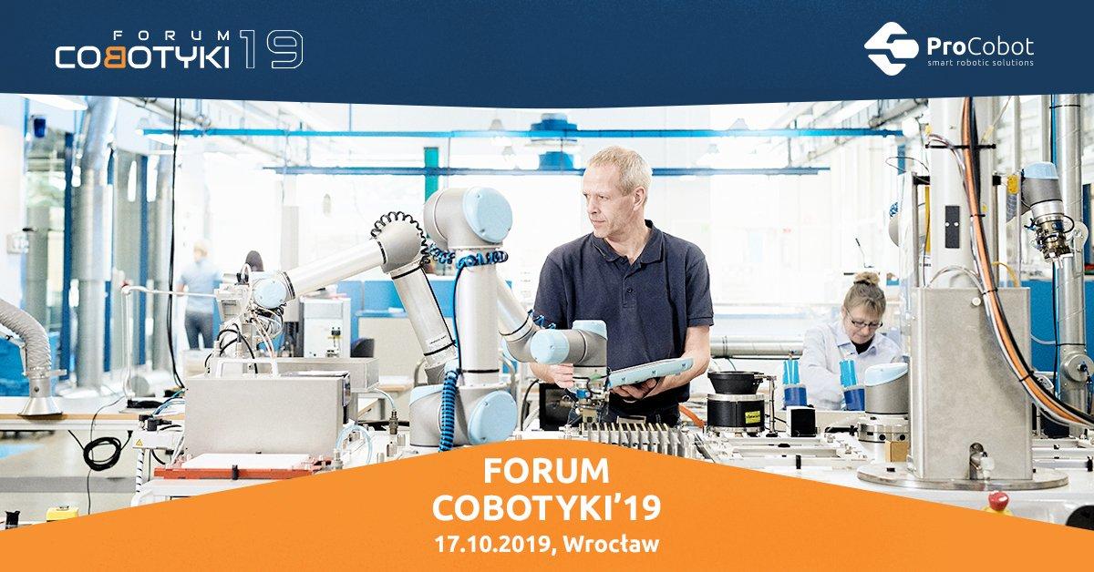 Forum Cobotyki 17 października 2019 we Wrocławiu