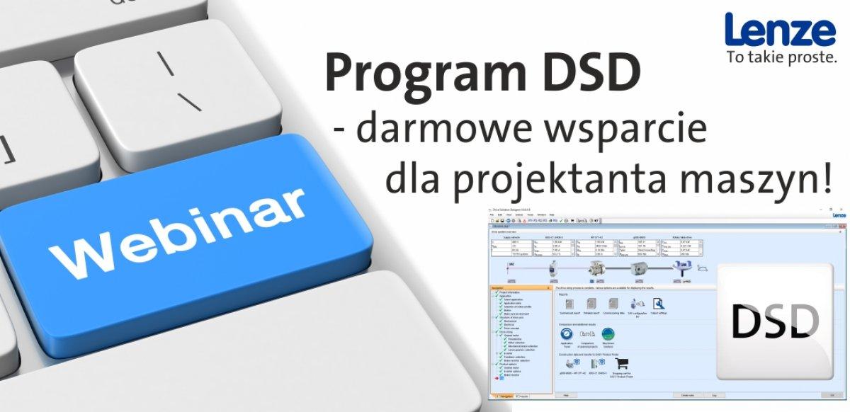 Program DSD - darmowe wsparcie dla projektanta maszyn!