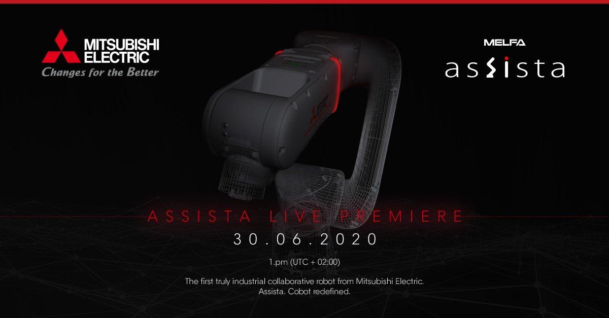 Premierowy pokaz nowego robota współpracującego - MELFA ASSISTA