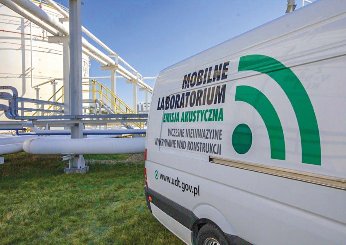 Nowy model usług laboratoryjnych UDT - laboratoria mobilne i stacjonarne