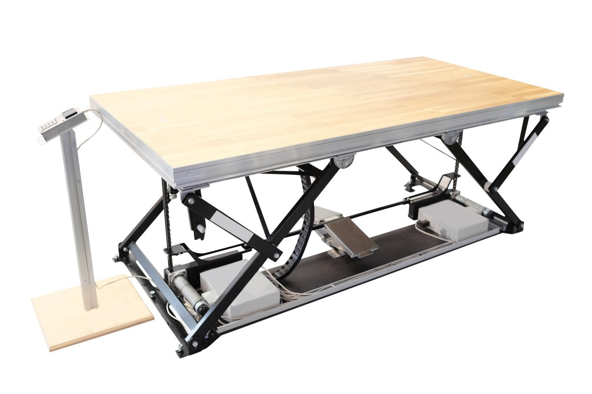 Do czego przydaje się stołowy podnośnik nożycowy?