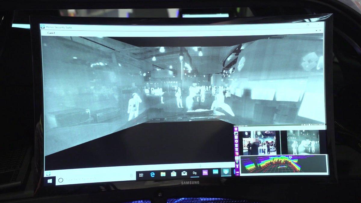 Dzięki kamerom termowizyjnym pojazd zobaczy przeszkody z odległości nawet 200 metrów