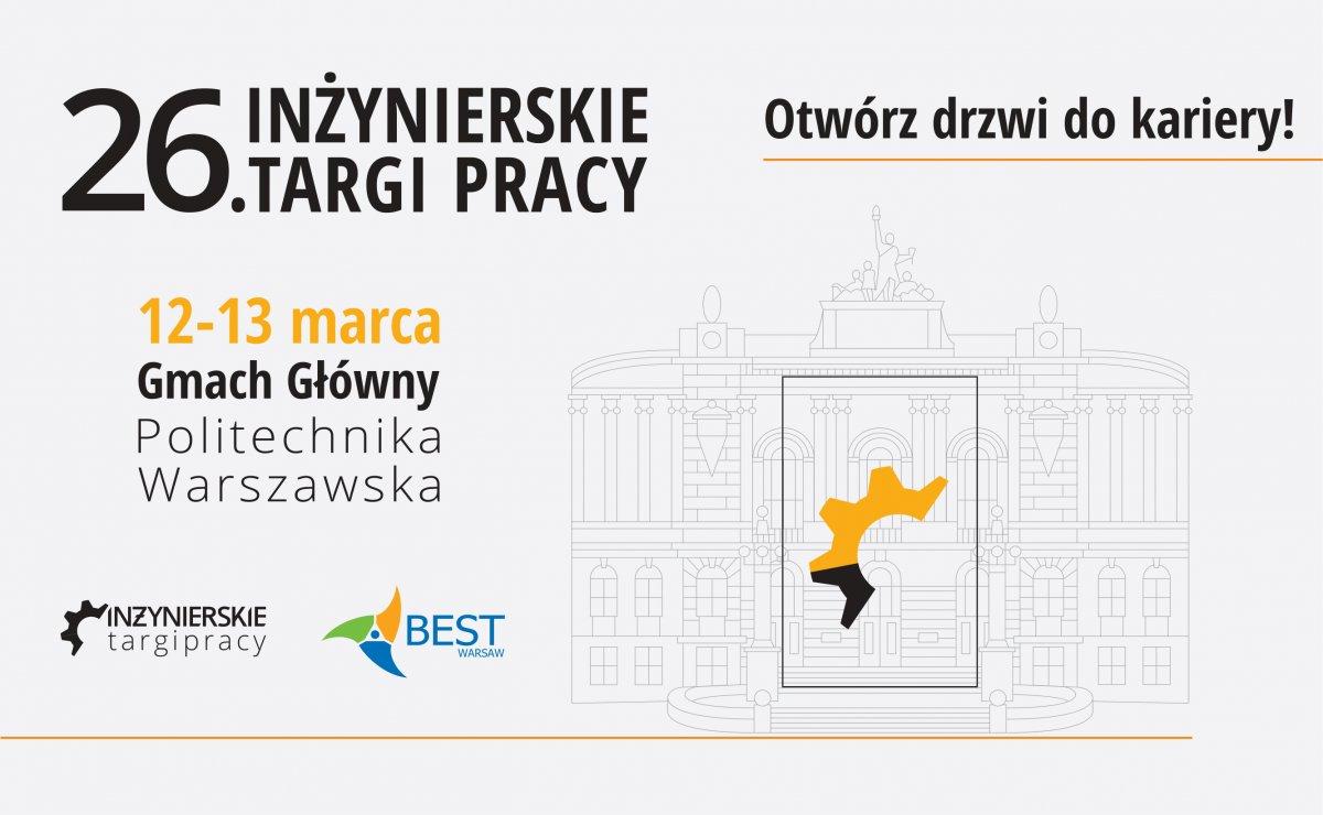 26. edycja Inżynierskich Targów Pracy na Politechnice Warszawskiej