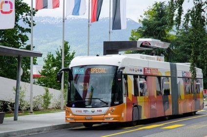 Genewski flesz - trolejbus