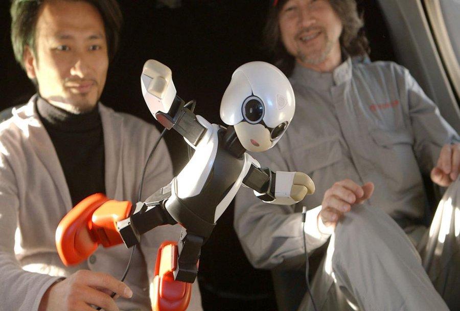 Kirobo - pierwszy robot, który ma za zadanie rozmawiać z astronautą w kosmosie