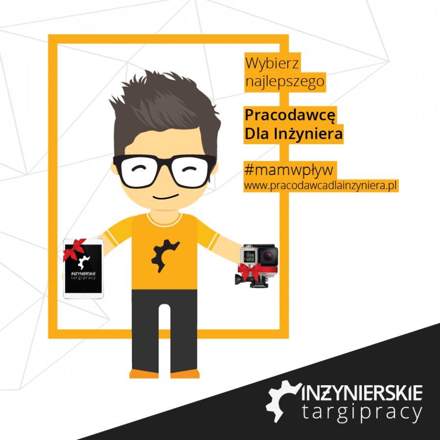 Wybierz pracodawcę dla inżyniera i wygraj iPada lub GoPro!