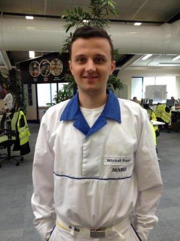 Michał Rusin - pracownicy MARS
